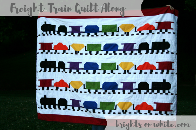Freight Train Quilt Along