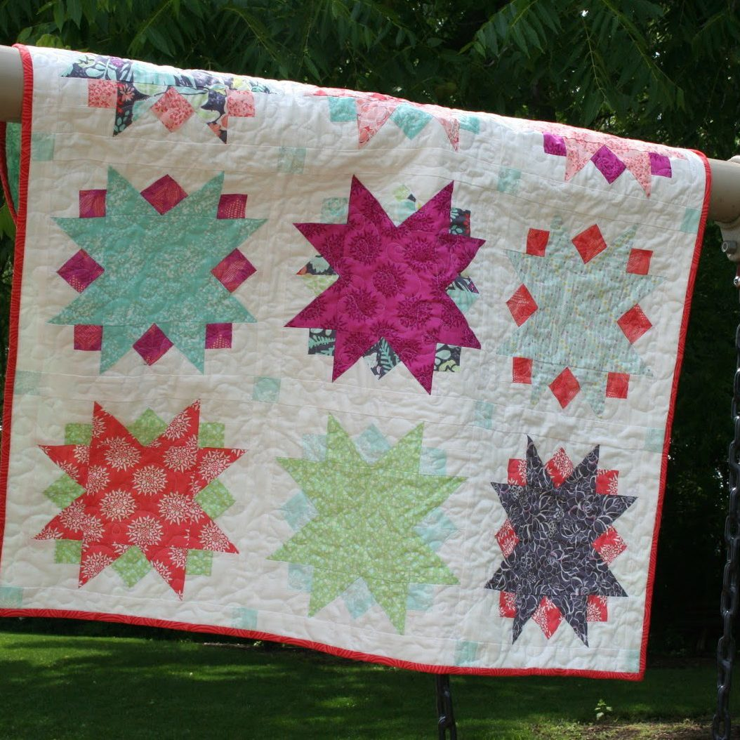 sunburst quilt pattern